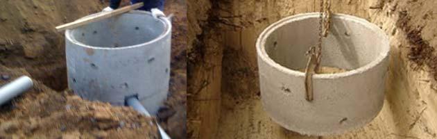 Anneau de puit beton construction maison b ton arm for Technique pour creuser puit